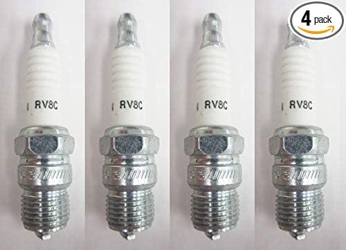 Made by Champion Spark Plugs Champion Spark Plugs RV8C 121 Spark Plug @ 4
