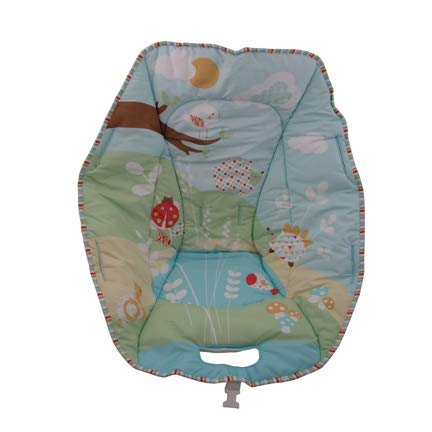 Replacement Pad/Cover for Fisher-Price Soothe and Go Bouncy Seat for Infants #W9452 - Summer Day Scene (Fisher Price Soothe And Go Bouncy Seat)