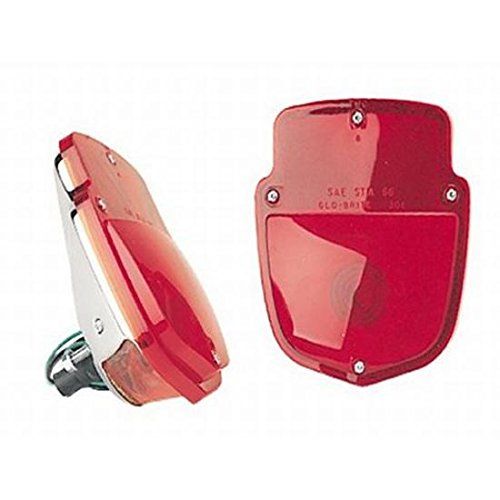 (1953-1956 Ford F1 Pickup Truck Taillight Chrome)