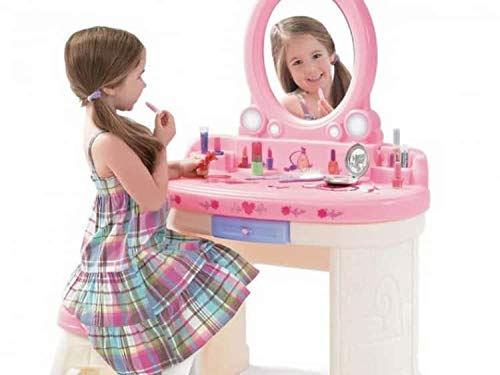 Goods4you Cosmetic Best Set for Girls Cosmetics Play Set - Fashion Makeup Kit for Kids