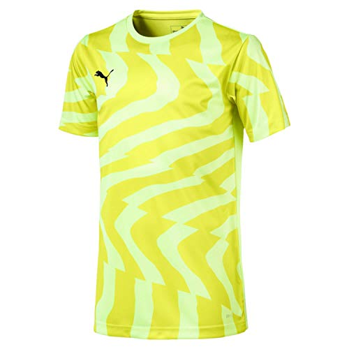 puma Jersey Cup Black Puma Maillot Yellow Fizzy Jr Core Garçon q8wBfxa5w