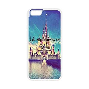 "Custom Disney Cover Case, Custom Hard Back Phone Case for iPhone6 Plus 5.5"" Disney"