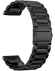 Stainless Steel Watch Band for Huawei Huawei GT/GT2/PRO/Magic Wrist Strap Bracelet-Black