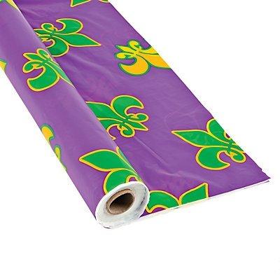 Mardi Gras Table Cover (Mardi Gras Tablecloth Roll)