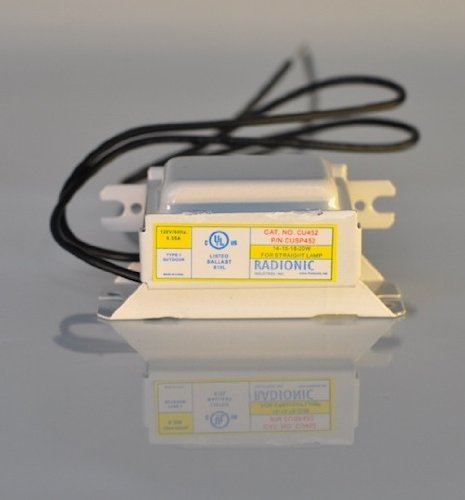 radionic cu452/cusp452 magnetic ballast: use with (1 ) f14/15/18t8, f20t12,  fc8t9 - buy online in oman    radionic products in oman - see prices,