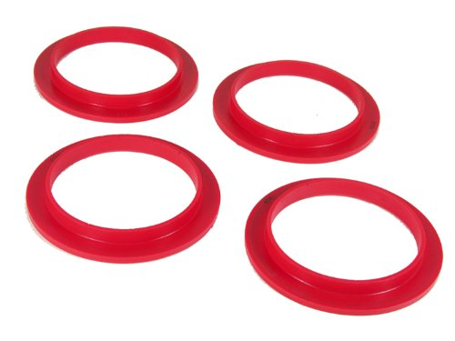 Spring Coil Front Isolator (Prothane 1-1706 Red Front Coil Spring Isolator Kit)