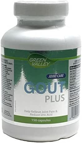GREEN VALLEY Gout Plus for Joint Pain & Reduce Uric Acid 150Capsules