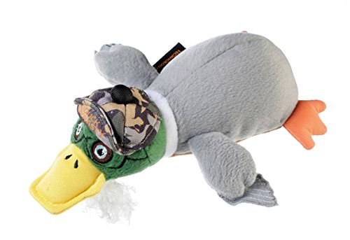 Duck Dynasty Si Plush Toy for Dogs with Chew Guard, -
