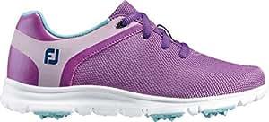 FootJoy Kids' emPOWER Golf Shoes (1, Purple/Blue)