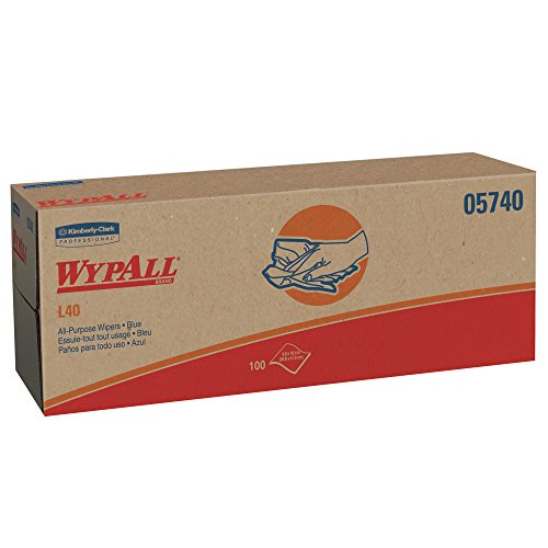 e Cleaning and Drying Towels (05740), Limited Use Towels, Blue, 9 Pop Up Boxes per Case, 100 Sheets per Box, 900 Sheets Total ()