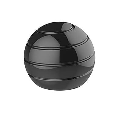 Pressure Release Toy , Elevin(TM)???????? Desktop Toys Desktop Decompression Ball for Kids and Adults (Black): Toys & Games