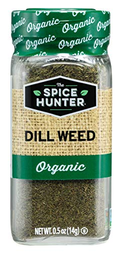 - The Spice Hunter Organic Dill Weed, 0.50 oz jar