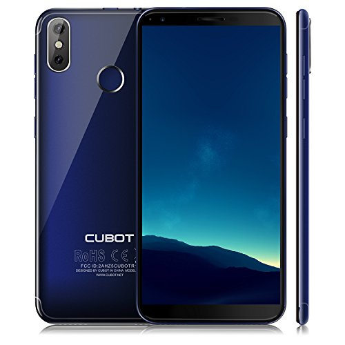CUBOT R11(2018) Android 8.0 Smartphone Unlocked, 18:9 FHD 5.0 inch Touch Screen Sim Free Mobile Phone, Android 8.0, 3G Dual SIM,2GB RAM+16GB ROM,13MP+8MP Dual Camera, WIFI, GPS,Bluetooth Cell Phone (B