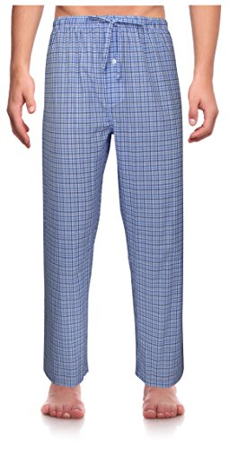 RK Classical Sleepwear Men's Woven Pajama Pants, Size XX-Large Tall (Tall Mens Pajamas)