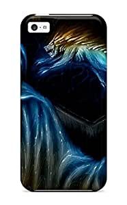 Snap On Case Cover Skin For Iphone 5c(werewolf) 8803394K78104522