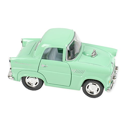 Master Toys & Novelties 1955 Ford Thunderbird Mint Color 4 Inch Funny Car Die Cast Toy