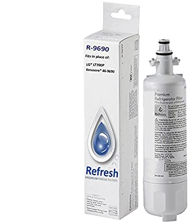 kenmore lg lt700p adq36006101 compatible water filter fits kenmore