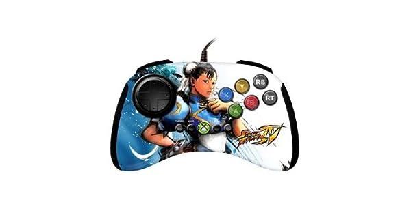 Amazon Com Xbox 360 Street Fighter Iv Fightpad Chun Li Video Games