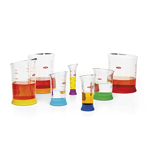 OXO Good Grips 7-Piece Nesting Measuring Beaker Set, Multicolored by OXO (Image #5)