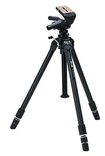 SLIK The Professional Tripod PRO Head 3-Way Panhead - Supports 22.00 lb (9.980 kg), Black (616-850)