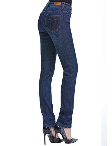 Camii Mia Women's Thick Thermal Slim Fit Jean Pants (W30 x L32, Blue Grey (new size)) by Camii Mia (Image #2)