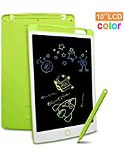 LCD Writing Tablet 12 Inch Electronic Writing and Drawing Doodle Board with Stylus, Richgv Writing Pad for Kids and Adults at Home, School and Office with Lock Erase Button (Green)