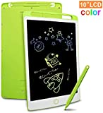 Richgv® LCD Writing Tablet, 10 Inch Electronic Writing and Drawing Doodle Board with Stylus Writing Pad for Kids and Adults at Home, School and Office with Lock Erase Button (Green) (10 Inch)
