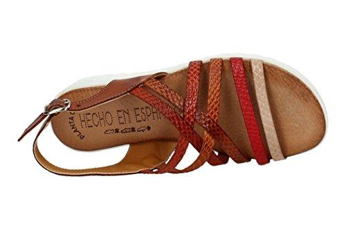 Sandalias Cuero Made Mujer Sandalia Spain In lbe Piel 105 Tiras zqz8Zw