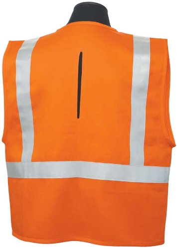 ML Kishigo - 100% Cotton Flame Resistant Surveyor's Safety Vest - 2X-Large by ML Kishigo (Image #1)