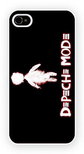 Depeche Mode Feather Logo, iPhone 5 5S, Etui de téléphone mobile - encre brillant impression