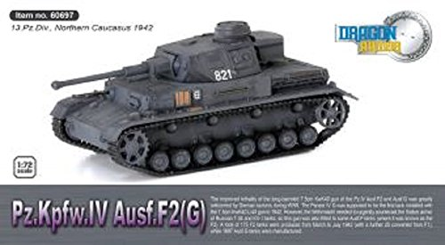 Dragon Armor 1:72 German Sd. Kfz. 161 PzKpfw IV Ausf. F2 (G) Medium Tank - 13.Panzer Division, Northern Caucasus, Russia, 1942