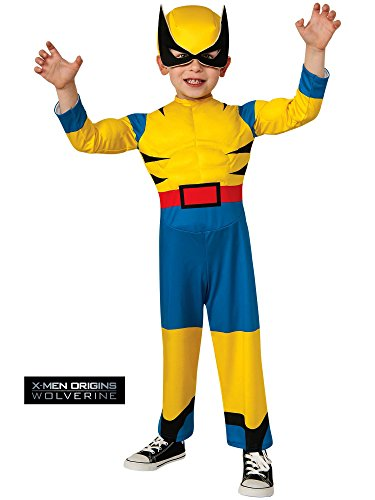 Rubie's Costume Baby Boy's Marvel Classic Costume Lil Wolverine, Multi, Toddler ()