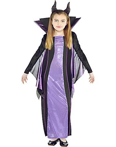 HalloCostume Girls Maleficent Costume - Sleeping Beauty, Halloween Costumes for Girls -