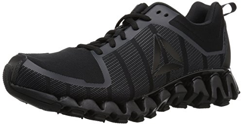 Reebok Men's ZigWild Tr 5.0 Running Shoe, Black/Coal/ash Grey, 9 M US