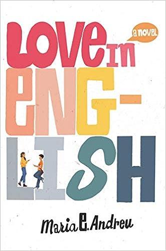 Amazon.com: Love in English (9780062996510): Andreu, Maria E.: Books