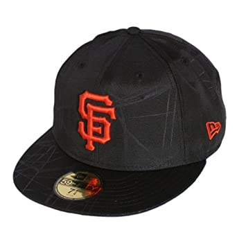 61a310dd017be New Era San Francisco Giants Innerprime Team 59FIFTY Fitted MLB Cap - Black  (7 1 2)  Amazon.co.uk  Clothing