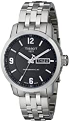 Tissot Men's T0554301105700 PRC 200 Analog Display Swiss Automatic Silver Watch
