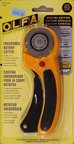 Olfa Deluxe 45mm Rotary Cutter, Model 9654 by OLFA