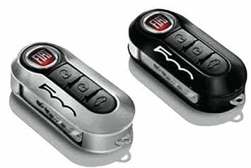 2 x New Fiat 500 cubiertas para llaves de repuesto en gris ...