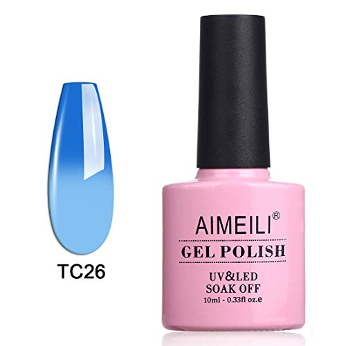 AIMEILI Soak Off UV LED Temperature Color Changing