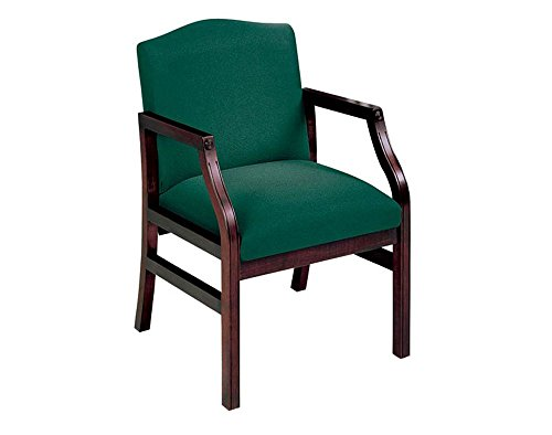 Traditional Guest Chair with Arms Dimensions: 23