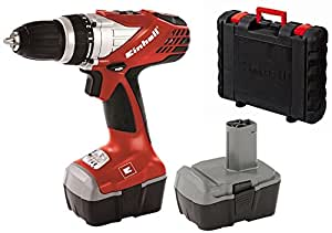 Einhell RT-CD 14,4/1 - Taladro sin cable (21,6 W, 14,4 V)
