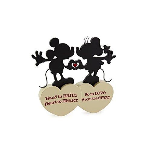 Minnie Silhouette - Hallmark Disney Mickey and Minnie Love Silhouette