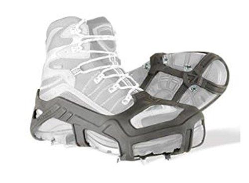 Korkers Unisex Apex Ice Stainless Steel Cleats, Black, (Unisex Ice)