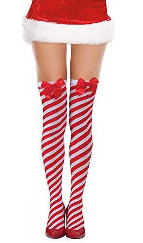 Costume Adventure Red and White Striped Tights Red White Striped Tight Elf Tights Christmas Tights
