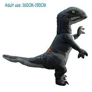 BWNWPH Traje Inflable de Dinosaurio de Halloween Traje ...