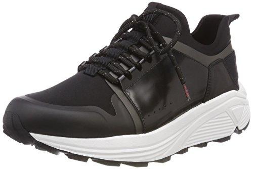 Hugo Horizon Sneakers Runn Mens Sneakers Horizon Black B07CBWPXBR Shoes dc1957
