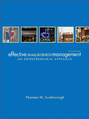 Effective Small Business Management (10th Edition)