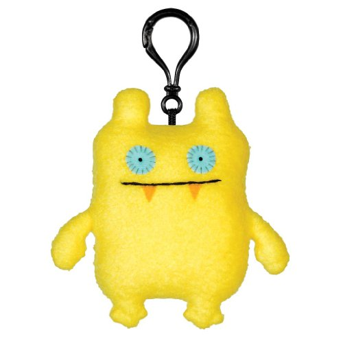 GUND Uglydoll Clip-On Nandy Bear, 4.7