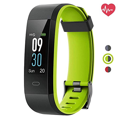 Delvfire Vega Fitness Tracker with Heart Rate Monitor, IP68 ...